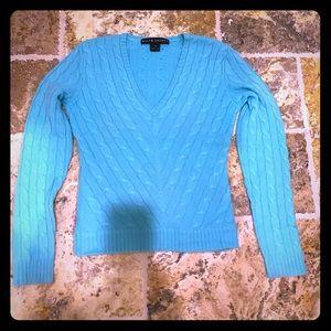 Ralph Lauren 100% cashmere v neck sweater